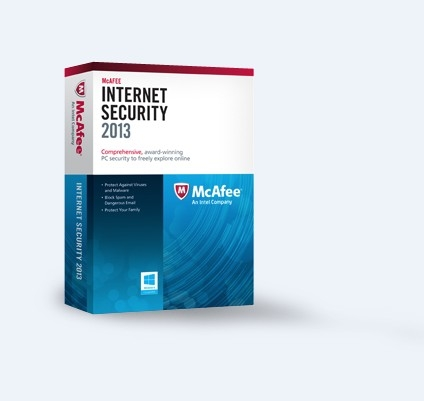 McAfee Internet Security 2013 (3PCs-2Year)