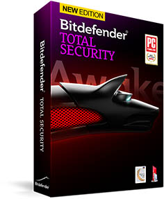 Bitdefender total securtiy (1year 1pc)