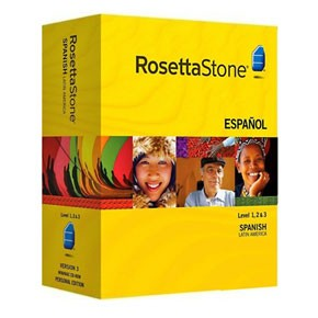 Rosetta Stone Spanish (Latin America) Level 1, 2, 3 Set key