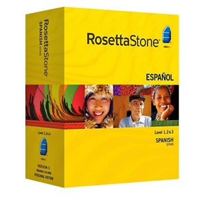 Rosetta Stone Spanish (Spain) Level 1, 2, 3 Set key