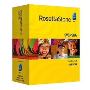 Rosetta Stone Swedish Level 1, 2, 3 Set key