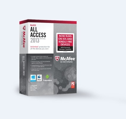McAfee All Access (1PC-1Year) key