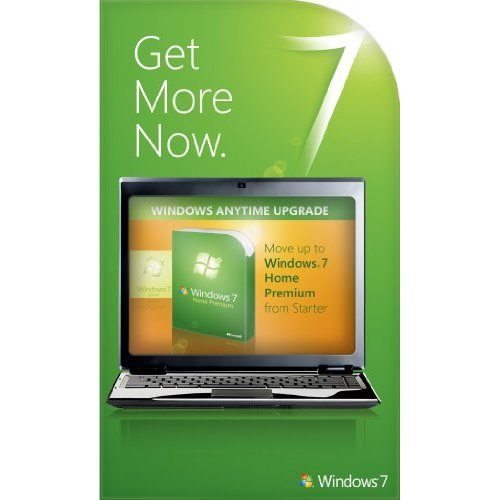 Windows 7 Starter to Home Premium Anytime Upgrade key