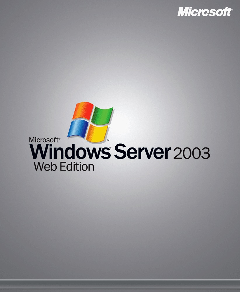 Windows Server 2003 Web Edition key