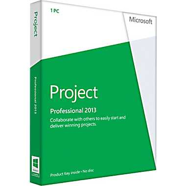 Microsoft Project Professional 2013 key