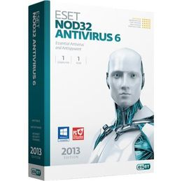 eset nod32 antivirus (1 years 2user) key