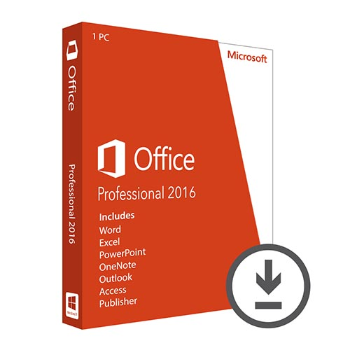 Office Professional 2016 key
